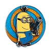Universal Pin - Despicable Me - Minion Tim Swirl Spinning Pin