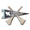 Universal Pin - Ravenclaw Quidditch Pennant Pin