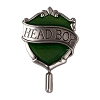 Universal Pin - Slytherin Head Boy Pin