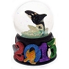 Sea World Snow Globe - 2015 Logo - Shamu - Fireworks
