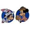 Disney Pin Set - Minnie as Mary Poppins & Mickey as Burt