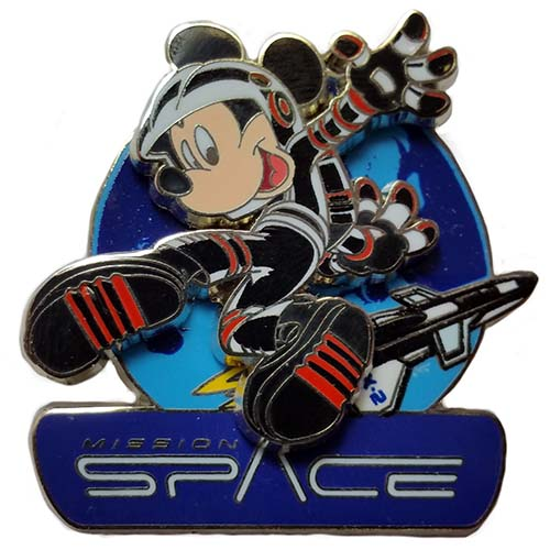 Your WDW Store - Disney Mickey Pin - Mission Space ...
