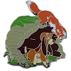 Disney Fox and the Hound Pin - Tod and Copper