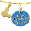 Disney Alex and Ani Charm Bracelet - Whistle While You Work - Gold