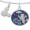 Disney Alex and Ani Charm Bracelet - Wish Upon A Star - Silver