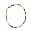 SeaWorld Eco Bead Elegant Multi-Color Choker Necklace