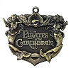 Disney Pirates of the Caribbean Pin - Logo - Bronze