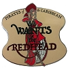 Disney Pirates of the Caribbean Pin - We Wants The Red Head