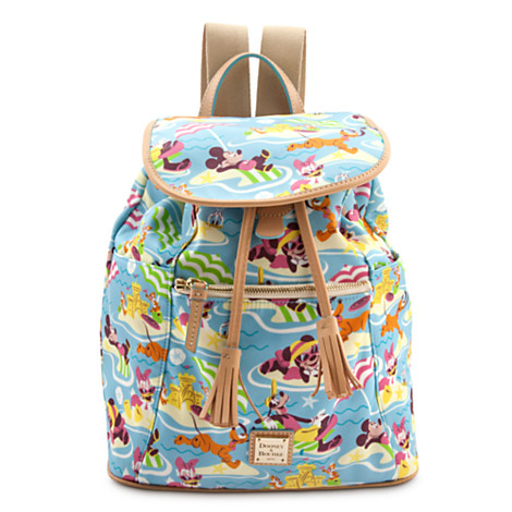 Your WDW Store - Disney Dooney & Bourke Bag - Fab 5 Beach - Backpack