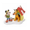 Department 56 Village - Mickey & Pluto - A Special Snack For Pluto