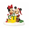 Dept. 56 - Disney Village - Mickey & Minnie Wrapping Gifts