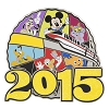 Disney 2015 Jumbo Pin Collection - 2015 Jumbo Spaceship Earth