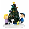 Peanuts Village - O'Christmas Tree
