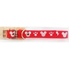 Disney Tails Dog Collar - Reflective - Red