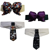 Disney Tails Pet Accessory - Bow Collar Set - Mickey Haunted Mansion