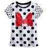 Disney CHILD Shirt - Minnie Mouse Polka Dot Tee for Girls