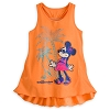 Disney CHILD Shirt - Minnie Mouse Tank for Girls - Orange