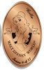 Disney Pressed Penny - Princess Collection - Belle