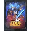 Disney Wall Magnet - Star Wars Weekends 2015 Logo Jedi Mickey Vader
