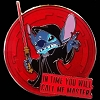 Disney Pin - Star Wars Weekends 2015 -  Emperor Stitch Famous Quote