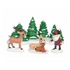 Universal Figurine - Rudolph - Meeting Santa Set Of 4