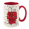 Peanuts Coffee Cup Mug - Snoopy's Decorated House