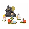 Peanuts Figurine - Peanuts Haunted House Set of 6