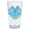 Disney Tumbler Glass - Mickey and Minnie Icon - Indigo Blues