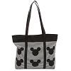 Disney Tote Bag - Mickey Mouse Icon - Black & White