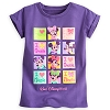 Disney Girls Shirt - Minnie Mouse Cuffed Tee - Purple