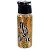Disney Water Bottle - Animal Print - Mickey Mouse Outline