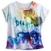 Disney Ladies Shirt - Tie Dye Mickey Mouse Dolman Top for Women