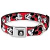 Disney Designer Pet Collar - Mickey Mouse Winking - Red
