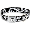 Disney Designer Pet Collar - Mickey Black and White Faces