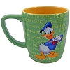 Disney Coffee Cup Mug - Loud Funny Short-Tempered Donald