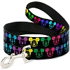 Disney Designer Pet Leash - Mickey Heads in a Straight Line - Neon