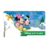Disney Collectible Gift Card - Mickey & Minnie - Sledding