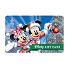 Disney Collectible Gift Card - Mickey & Minnie - Tinsel and Lights