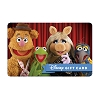 Disney Collectible Gift Card - Muppets - Awesome Foursome