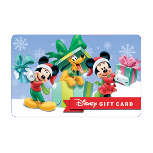 disney collectible gift card pluto s perfect present. Black Bedroom Furniture Sets. Home Design Ideas