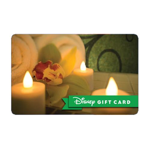 Disney Collectible Gift Card  Senses Spa