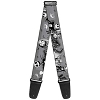 Disney Designer Guitar Strap - Nightmare Before Christmas - Jack Skellington & Sally & Zero