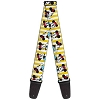 Disney Designer Guitar Strap - Classic Minnie Mouse Yellow