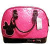 Disney Loungefly Satchel - Minnie Loves Mickey - Magenta