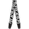 Disney Guitar Strap - Mickey Mouse Black and White Faces