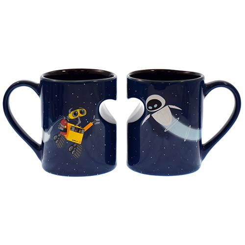 Your Wdw Store Disney Coffee Cup Mug Set Wall E And