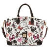 Disney Dooney & Bourke Bag - Minnie Hearts and Bows - Satchel