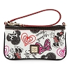 Disney Dooney & Bourke Bag - Minnie Hearts and Bows - Wristlet