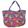 Disney Tote Bag - Hawaiian Floral Mickey Icon
