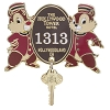 Disney Hollywood Studios Pin - Tower of Terror Chip n Dale Key